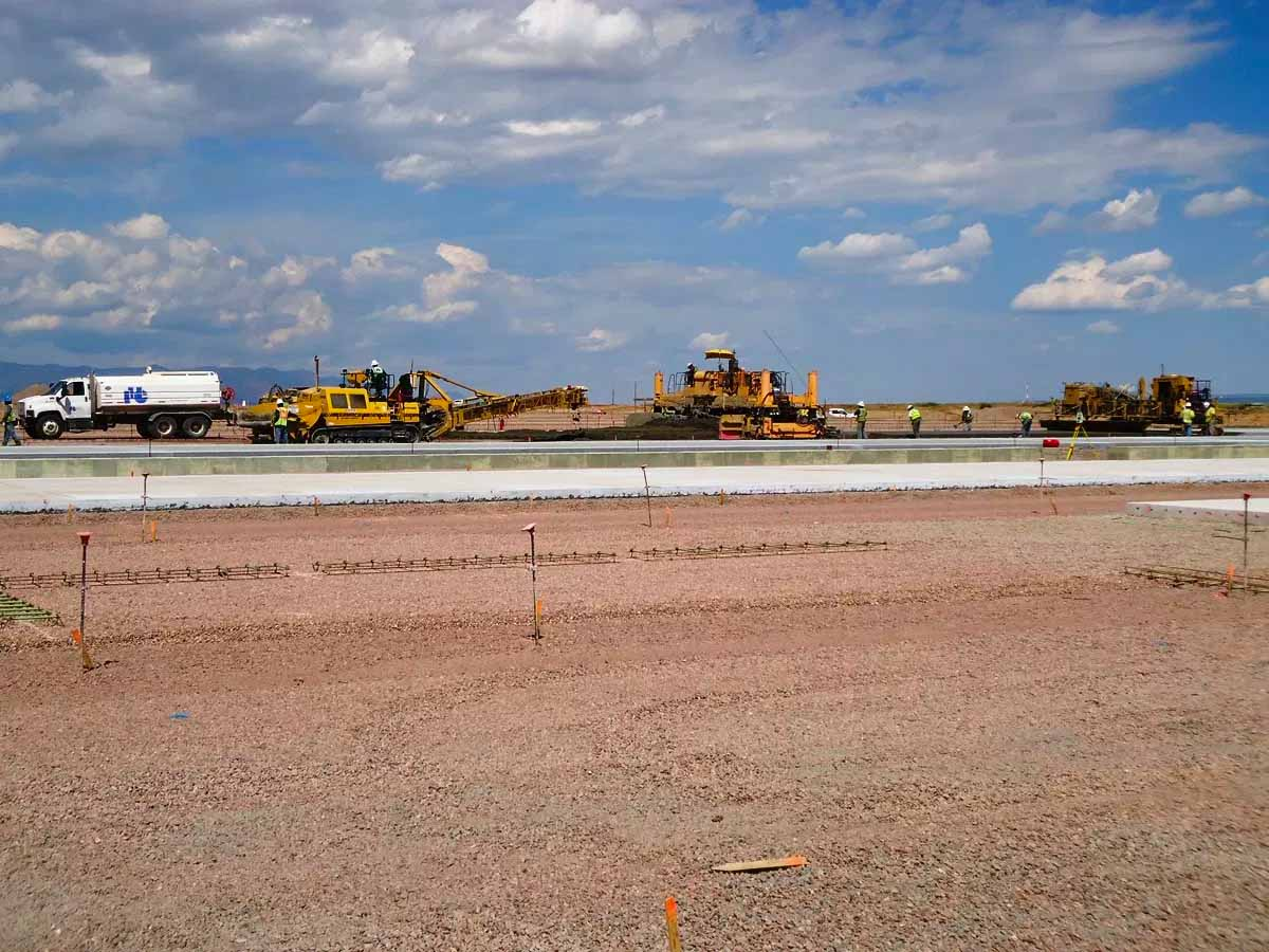 Fort Carson Aircraft Loading and Refueling Apron Concrete Paving