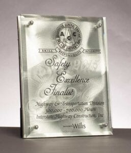 2015 AGC Safety Award
