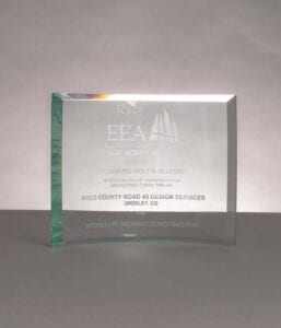 2020 Honor Award from Engineering Excellence Award for Weld County 49 Design Services