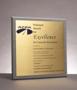 2012 American Concrete Pavement Association, Denver Airport Runway