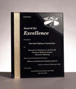 2012 American Concrete Pavement Association, Cheyenne Regional Airport