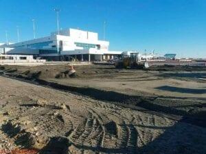 Gates B13 & B14 Construction Paving Denver International