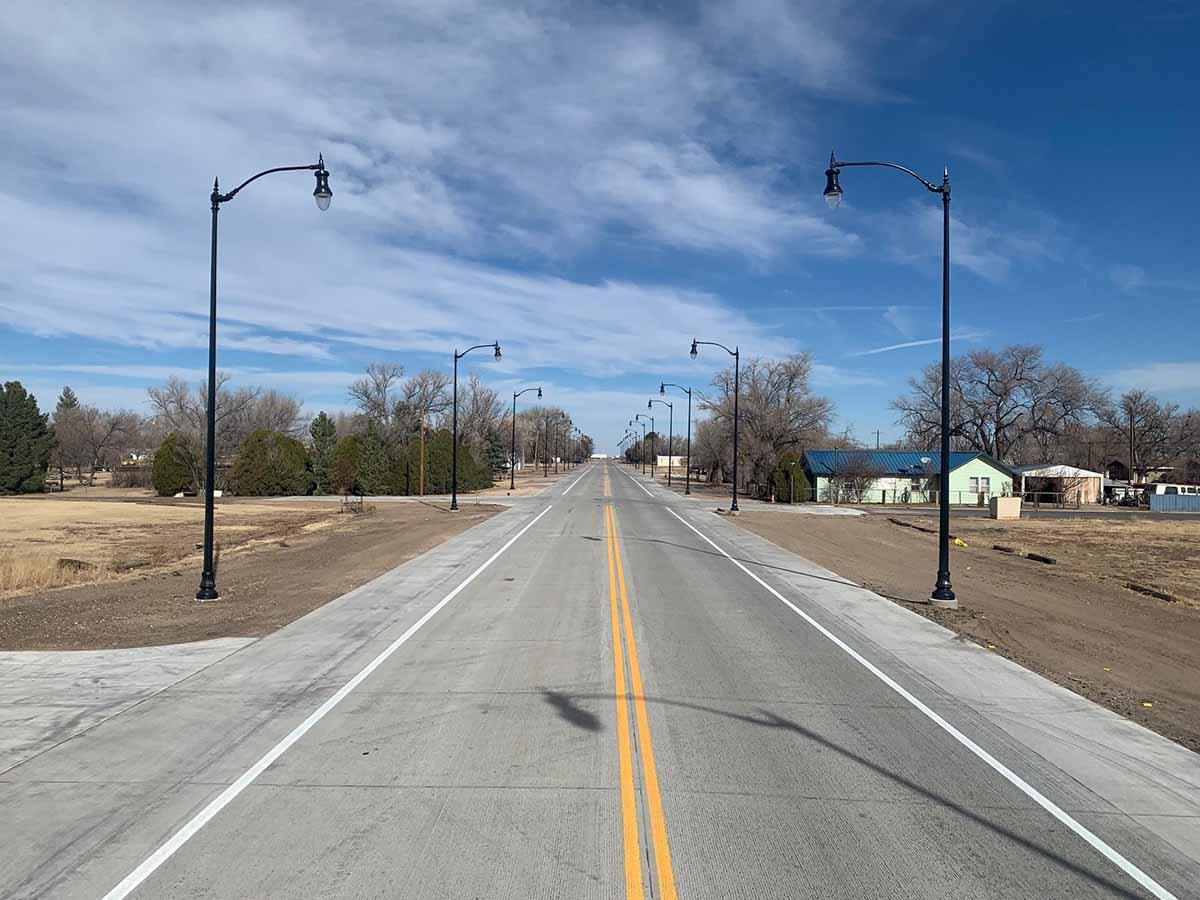 US 64 Boise City, OK road construction