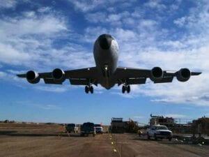Air Force Flyover at Buckley Air Force Base Runway