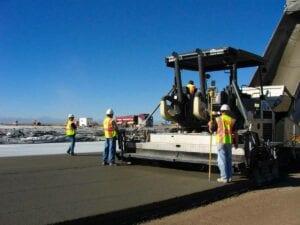 Denver International Airport Concourse Snow Storage Pad Concrete (PCCP) Paving