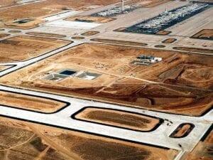 DIA International Runway 16R/34L Concrete Paving Complete
