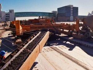 DIA International Runway 16R/34L Construction