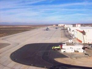 Edwards Air Force Base Runway Reconstruction paving