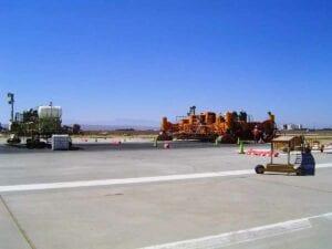 Edwards Air Force Base Runway Reconstruction paving concrete