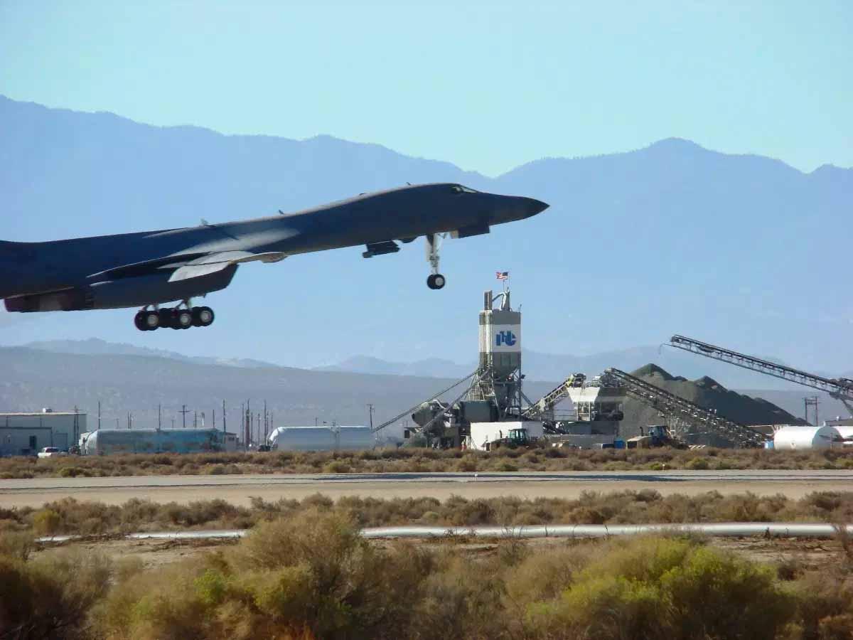 Edwards Air Force Base Runway Reconstruction