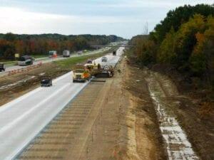 I-196 South Haven, Michigan concrete paving