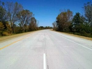 Reconstructed Eastbound Roadway of I-196