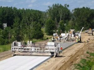 Final Concrete Paving Reconstruction on the Eastbound Roadway of I-196