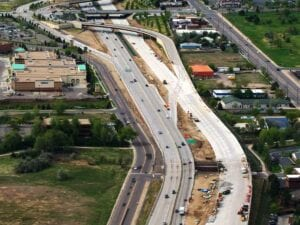 reconstruction of I-225 from I-25 and I-70