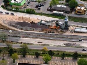 I-255 mobile ready mix concrete plant