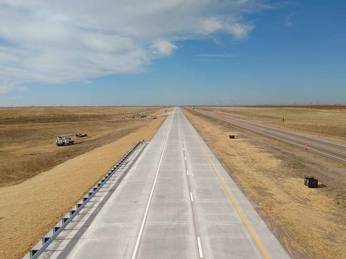 Removal and replacement on I-80 Wyoming Line to Bushnell
