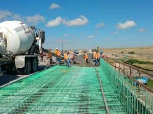 N-27 South Platte River concrete paving