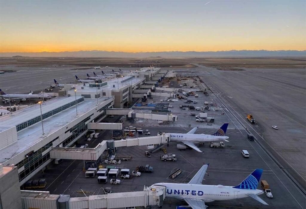 Denver International Airport Rehabilitation Improvements job completion