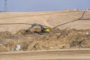 Red Rocks Ranch Residential Development Storm Drain installtion