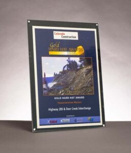 2009 Colorado Construction Magazine, Award for Highway 285 and Deer Creek Interchange