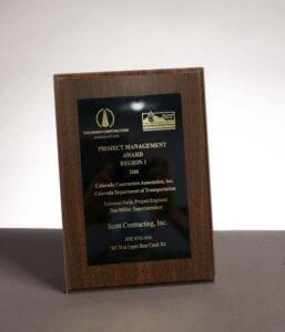 2008 Colorado Contractor Association, Award for SH-74 Upper Bear Creek Road