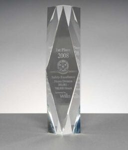 2008 Associated General Contractors, 1st Place in Safety Excellence Heavy Division