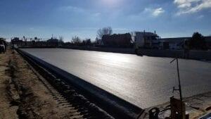 I-25 paving concrete