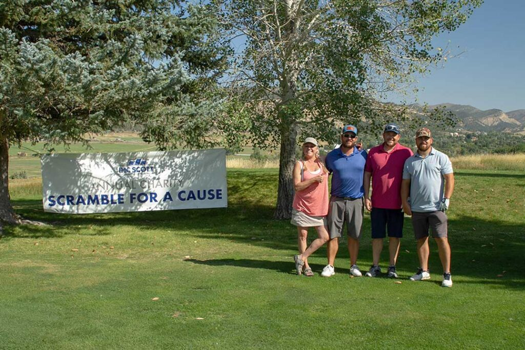 """IHC Scott """"Scramble for a Cause"""" Benefits Meeker Education Foundation"""