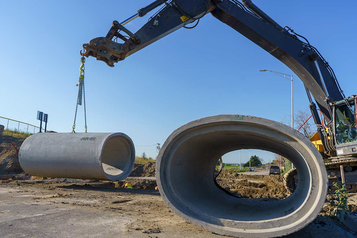 IHC Utility and Drainage installation