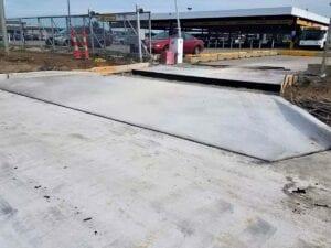 Lucas Drive Concrete Paving Reconstruction at Detroit Metropolitan Airport