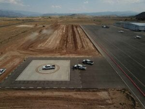 Garfield County Airport Apron Expansion Concrete Paving