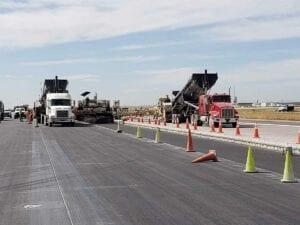 Runway 17R-35L Complex Pavement Rehabilitation Project for Denver International Airport Concrete Paving
