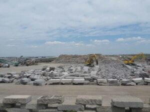 Runway 17R-35L Complex Pavement Rehabilitation Project for Denver International Airport Yard Crushing