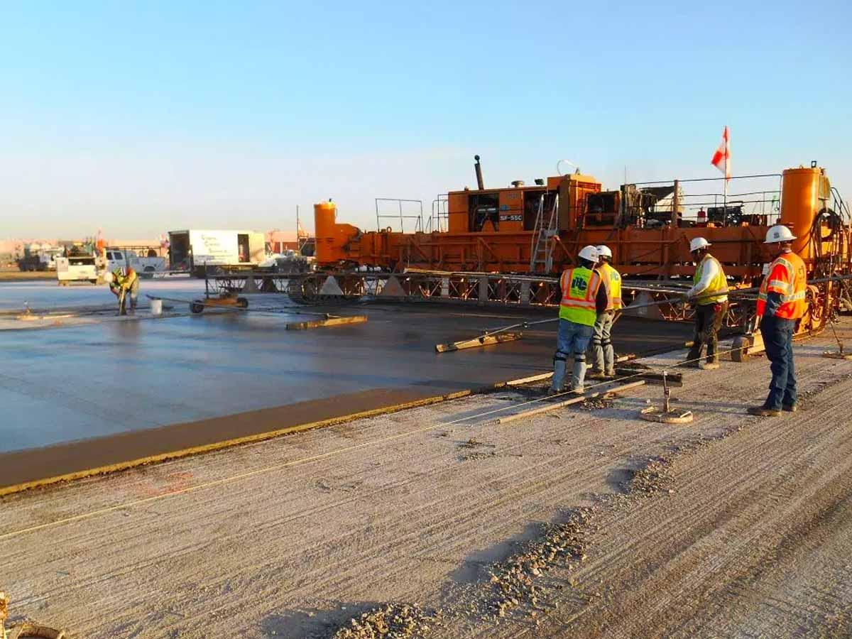 Runway 18L/36R Concrete Paving Pavement Rehab (Final Phase) Tulsa International Airport, Oklahoma