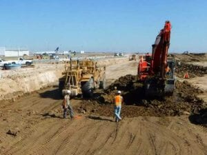 Denver International Airport Runway 8/26 Pavement Rehabilitation Concrete Paving