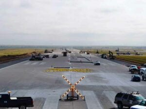 Runway 8-26 closed down for reconstruction