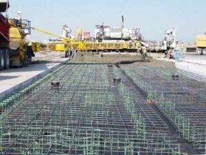Paving Concrete on Runway Denver International Airport Runway 8/26
