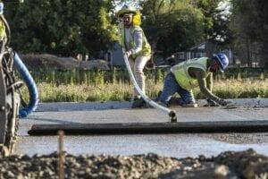 Concrete Paving for Basalight Concrete