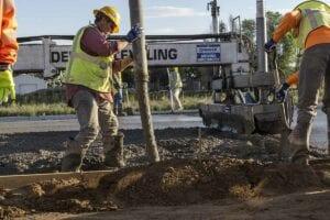 Concrete Paving. PCCP for Basalight Concrete