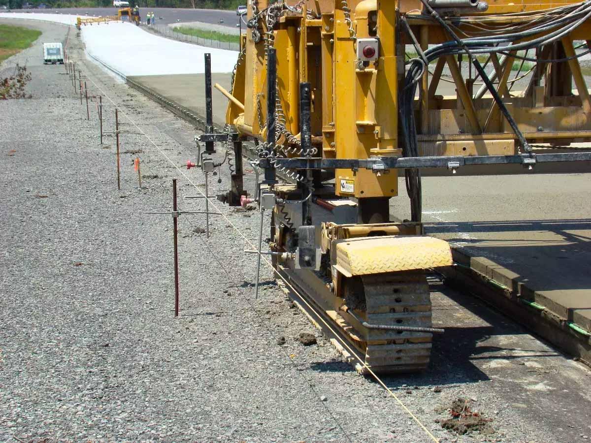 SH-64 Vilonia Bypass concrete paving