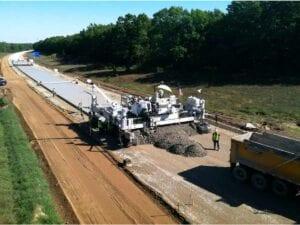 US-131 Slip Paver Concrete Widening