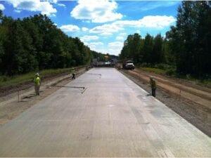 US-131 Concrete Widening/Reconstruction paving concrete