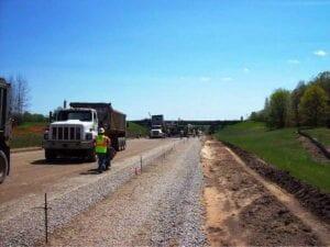 US-131 Concrete Widening/Reconstruction concrete paving
