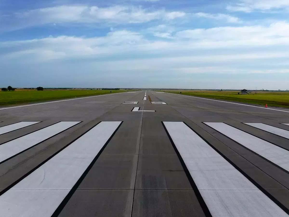 Vance Air Force Base Runway New Runway and Taxiway