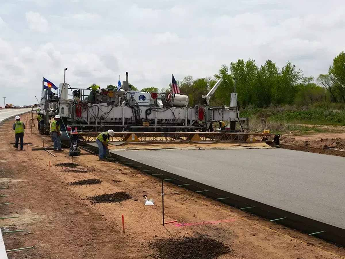 Widening and WCR 49 from I-76 to Colorado 392