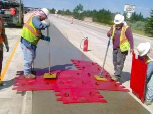 West Lincolnway (US-30) concrete flatwork