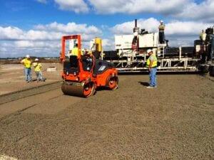 Wayne County Airport Concrete Paving Preparation