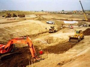 Willow Creek Detention Dam Earthwork