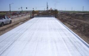 96th Avenue Extension Concrete pavement PCCP