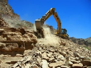 W.W. Clyde & Co. provides mining excavation.